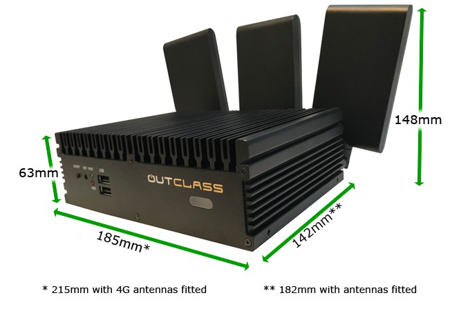 OutClass air IFE server